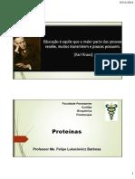Aula 09 - Proteinas e Aa 1