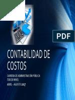 Aula Virtual Contabilidad de Costos