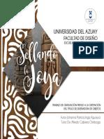 UNIVERSIDAD DEL AZUAY TESIS SOBRE DISEÑO DE JOYAS