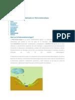 HIDROMETEREOLOGIA