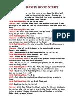 Little Red Riding Hood Script