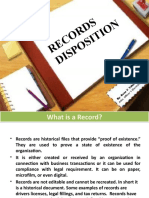 Records Disposal Procedures(Sample)