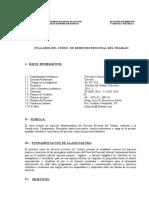 Sylabus Procesal Laboral - II