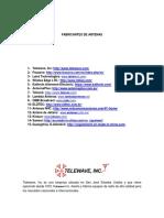 Catalogo Antenas