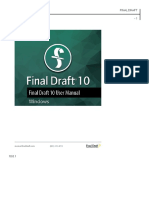 Manual de Final Draft