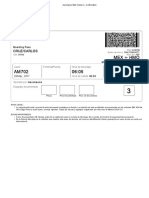 Aeromexico Web Check-In – Confirmation