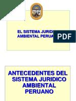Modulo II Sistema Juridico Ambiental Peruano Unh 2017 PDF