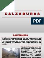 TEORÍA DE CALZADURAS