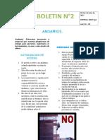 Boletín 2 Andamios
