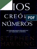 Dios creó los números - Stephen Hawking.pdf