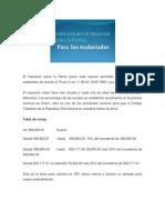 El Impuesto Sobre La Renta Grava Toda Ingreso Percibido Por Parte de Los Empleados de Acurdo Al Título II Ley 11