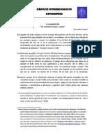 André Fossion Evangelización Una Constante Cuerpo a Cuerpo
