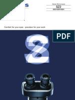 Olympus SZ51 SZ61 SZX7 Brochure