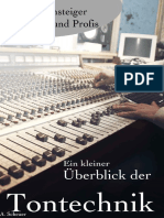 Ein Kleiner Überblick Der Tontechnik - A. Scheuer
