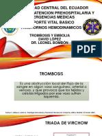 Trombosis y Embolia