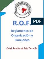 ROF Red Sur Atencion Integral de Salud