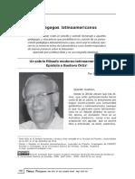 Cruz Sobre Ortiz Diálogos Pedagógicos