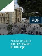 Programa Estatal de derechos humanos de Oaxaca