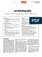 Metallography etchants