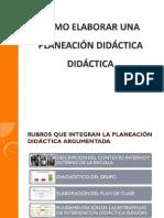Elaborar una planeación didáctica argumentada.pdf