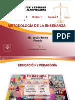 Tema 1 Educación y Pedagogía