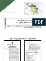 Luas Kawasan Hutan Provinsi Papua Barat.pptx