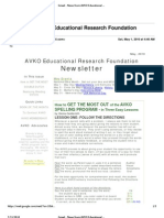 AVKO Newsletter 2010-05-01