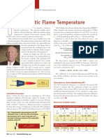 Adiabatic Flame Temperatrue