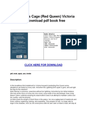PDF Kings Cage Red Queen   E Books   Computing