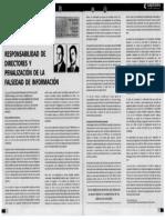 Lectura T8 Responsabilidad de Directores y Penalización de La Falsedad Deinformación