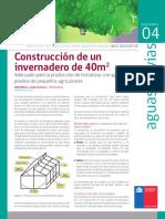 2 18 RAYENTUÉ Construcción de Invernadero