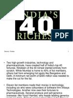 40 Indian Millionares