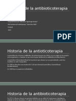 14.Historia de La Antibioticoterapia