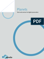 Planets Product Specification