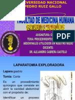 32. PROCEDIMIENTOS TERMINADOS