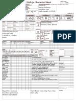W 5E D&D Character Sheet 1pg v10 (Form)