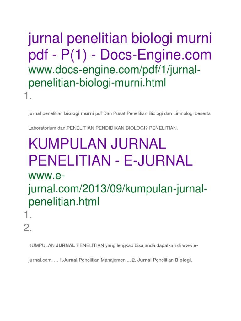 jurnal penelitian biologi murni pdf 3.docx