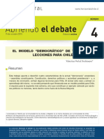 Verbal Modelo Democrático Venezuela