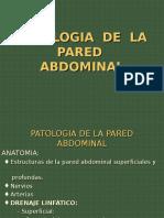 22. Patologías de La Pared Abdominal