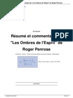 Résumé de Les Ombres de l'Esprit de Roger Penrose