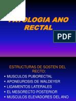 Clase Patologia Ano Rectal