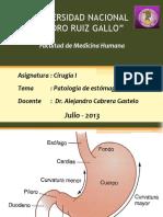 24. Patología de Estómago y Duodeno - Dr. Cabrera