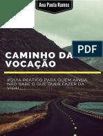 Caminho Da Vocacao eBook