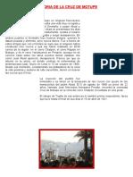 Historia de La Cruz de Motupe-erick