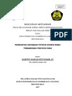 Pembuatan Database Potensi Energi Baru Terbarukan Provinsi Riau-coaching Bab 1