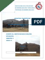 Informe de Paleontologia