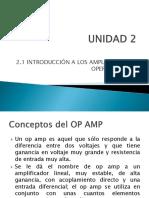 EA_Tema 2.1 Op Amp Introducción