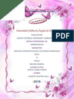 i.f II Unidad Monografia II Parte Balance General de Cuadros Talavera Maria Isabel Adm Ix