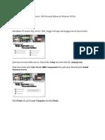 Cara Instalasi SQL Server 2000