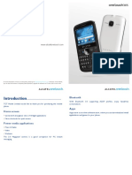 Alcatel Onetouch One Touch 815 815d Owners Manual
